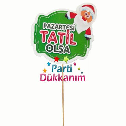 Pazartesi Tatil Olsa (Konuşma Balonu)