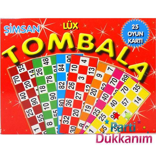Yılbaşı Tombala (25 Oyun Kartı)