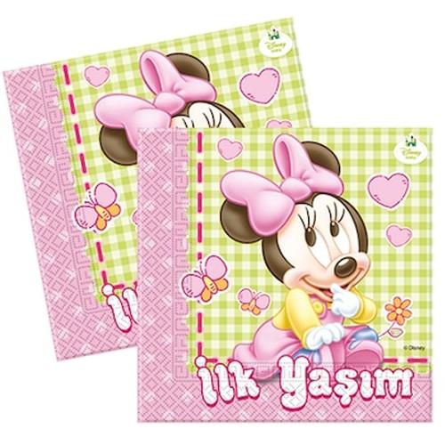 Baby Minnie İlk Yaş Peçete (20 adet)