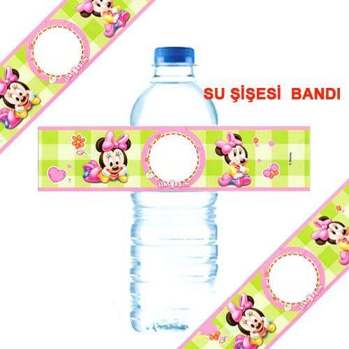 Baby Minnie Mouse Su Şişesi Bandı 18 adet, fiyatı