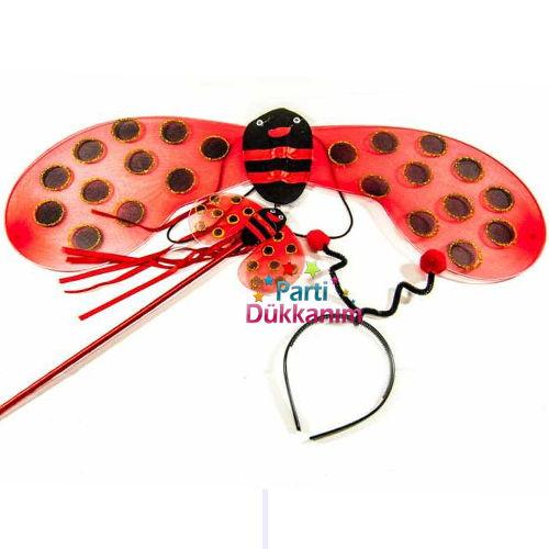Uğur Böceği Kanadı Seti (3 Parça)