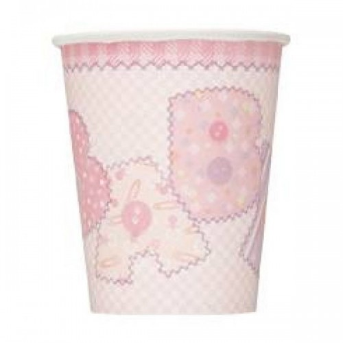 Baby Shower Bardak Pink (8 adet)