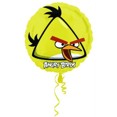 Angry Birds Folyo Balon Sarı 45 cm