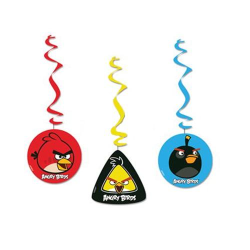 Angry Birds Asma Süs (3 lü)