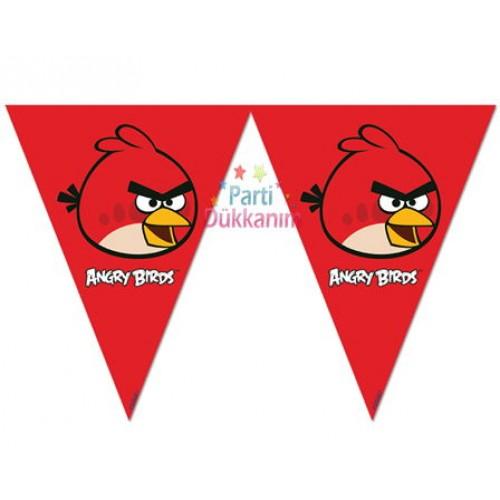Angry Birds Flama Bayrak Set (3.6 metre)
