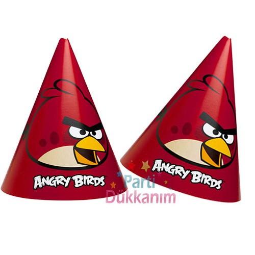 Angry Birds Şapka (6 adet)