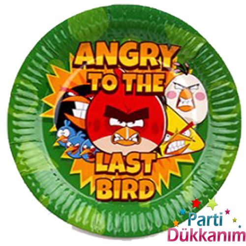 Angry Birds Tabak (8 Adet)