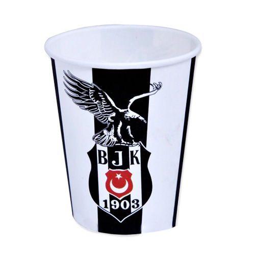 Beşiktaş Karton Bardak (8 adet)