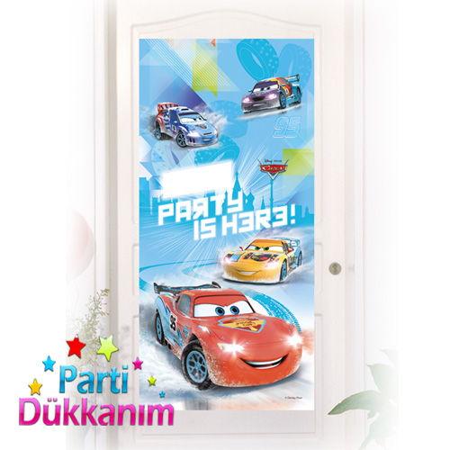 Cars İce Kapı Banner (76X152 cm), fiyatı