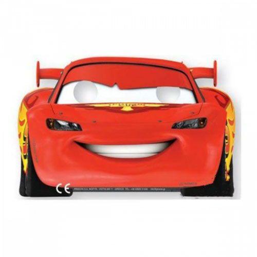 Cars Formula Kağıt Maske (6 adet)