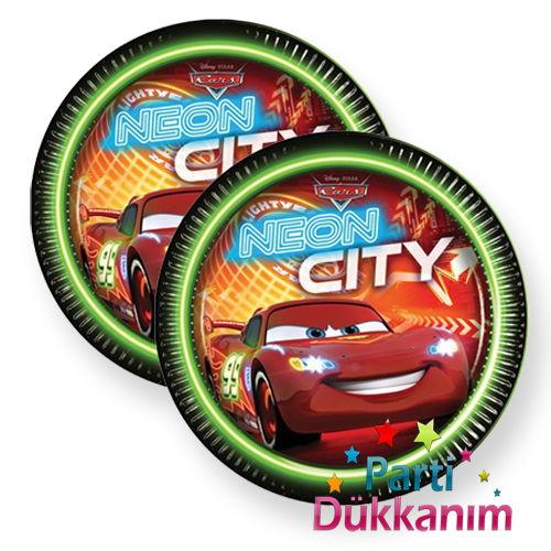 Cars Neon Tabak (8 adet)