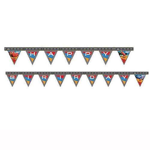Cars RSN Happy Yazı Banner (2.2 m.)