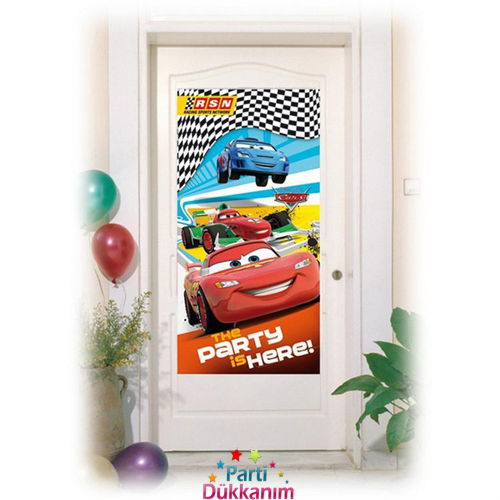 Cars RSN Kapı Banner (76X152 cm)