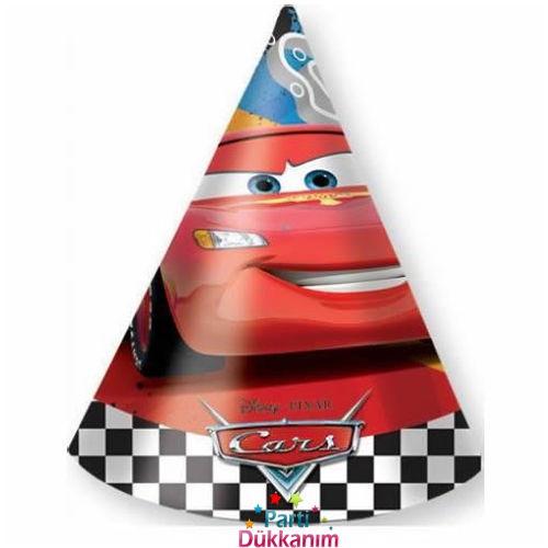 Cars RSN Şapka (6 adet)