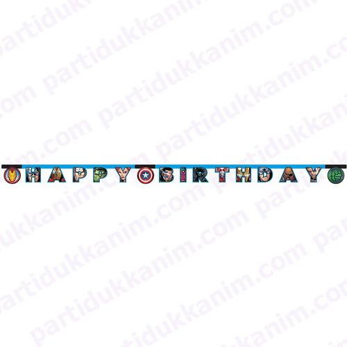 Yenilmezler Happy Birthday Yazısı (2 m.), fiyatı