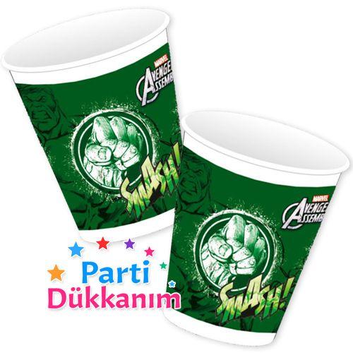 Hulk Plastik Bardak (8 Adet), fiyatı