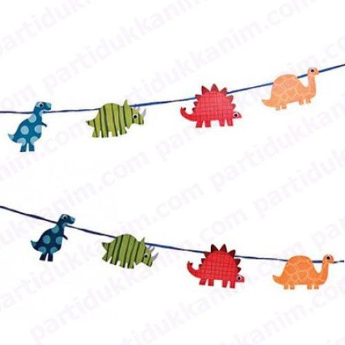 Dinozorlar Garland Banner, fiyatı