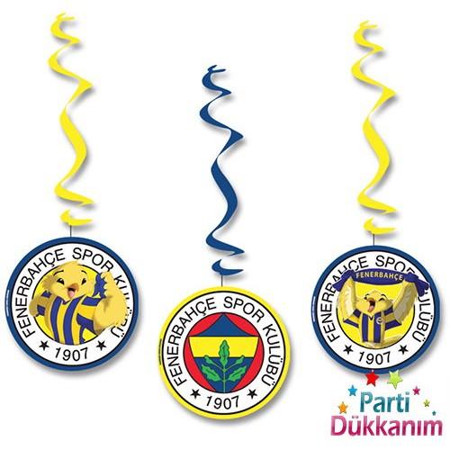 Fenerbahçe Asma Süs (3 adet)