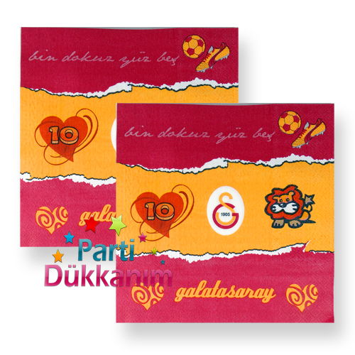 Galatasaray Peçete (20 adet)