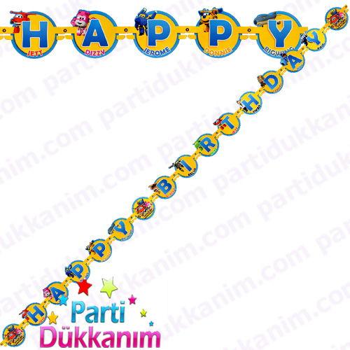 Harika Kanatlar Happy Birthday Yazısı (2 m.), fiyatı