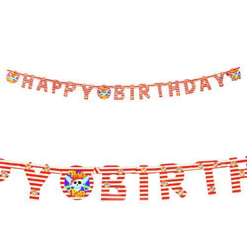 Korsan Happy Birthday Yazısı (1,65 mt), fiyatı