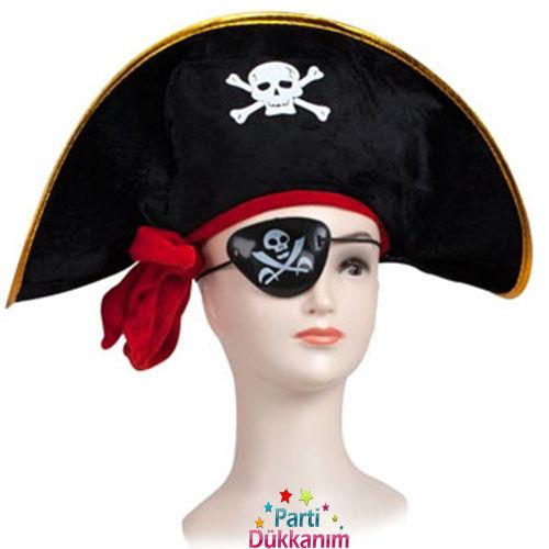 Korsan Şapkası + Maske