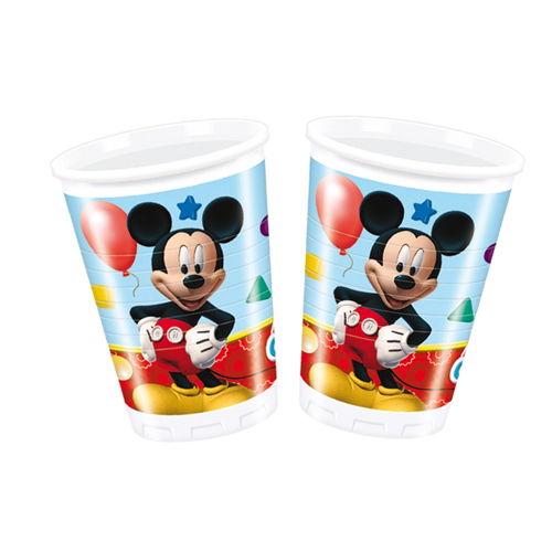 Mickey Mouse Bardak (8 adet)