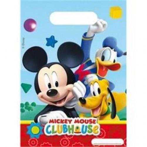 Mickey Mouse Parti Poşeti (6 adet)