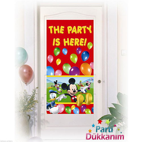 Mickey Mouse Kapı Banner (76X152 cm)