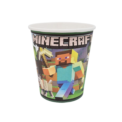Minecraft Bardak (8 Adet)