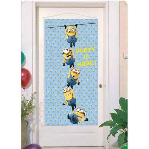 Lovely Minions Kapı Banner (76X152 cm)