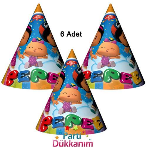 Pepee Parti Şapka (6 Adet)
