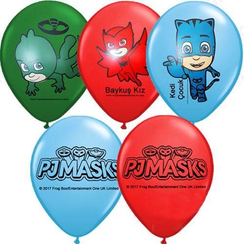 Pj Masks Balon 15 Adet