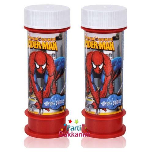 Spiderman Köpük Baloncuk (2 adet)