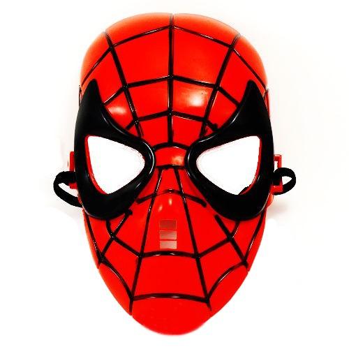 Spiderman Plastik Maske