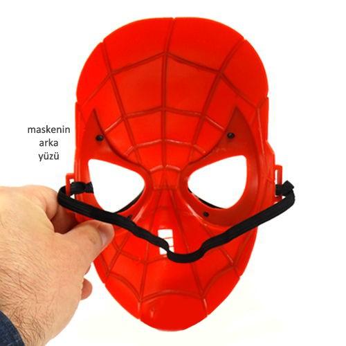 (Buradan indirin) örümcek Adam Maskesi Boyama