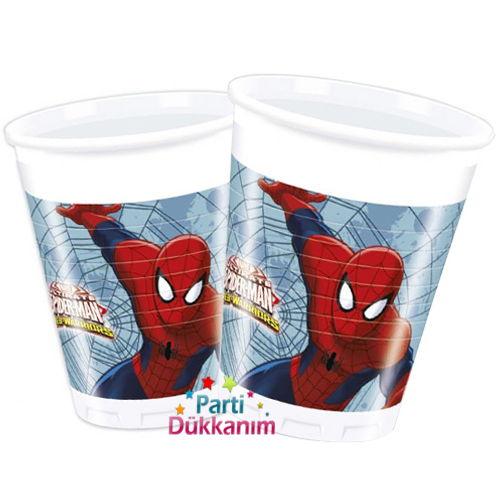 Spiderman Ultimate Bardak (8 adet)