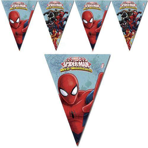 Spiderman Ultimate Bayrak Set (2.3 m.)