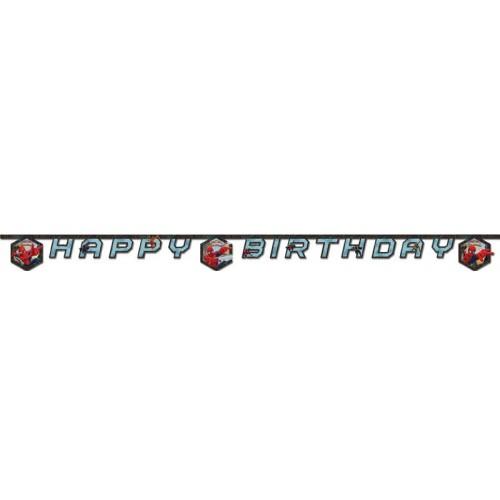 Spiderman Ultimate Happy Birthday Yazısı 2 metre, fiyatı