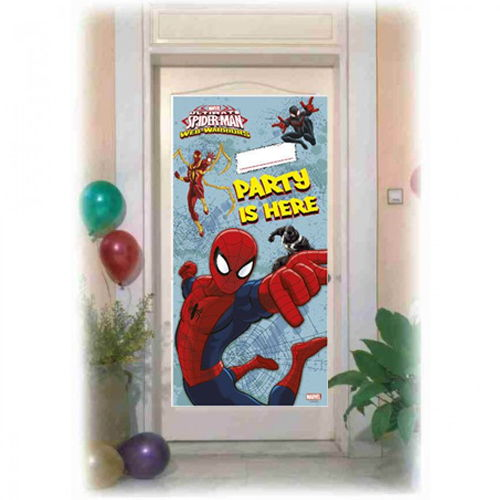 Spiderman Ultimate Kapı Banner (76X152 cm)