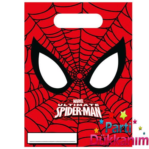 Spiderman Ultimate Power Hediyelik Poşet 6 adet