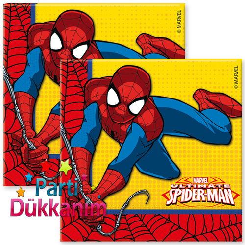 Spiderman Ultimate Power Peçete (20 adet)