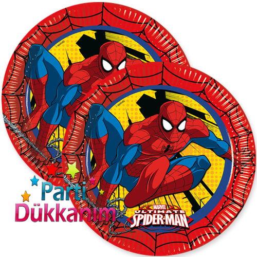 Spiderman Ultimate Power Tabak (8 adet)