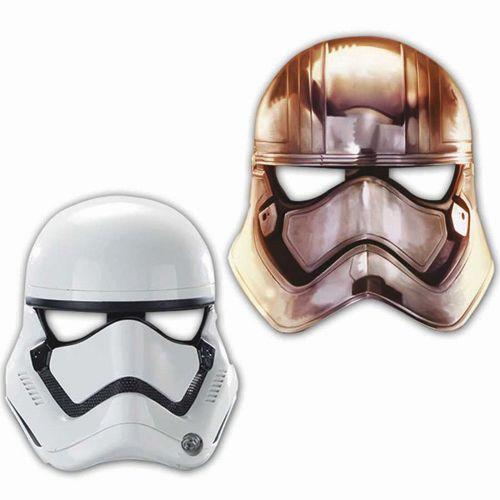 Star Wars Kağıt Maske (6 adet)