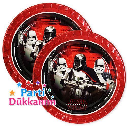 Star Wars Tabak (8 Adet), fiyatı