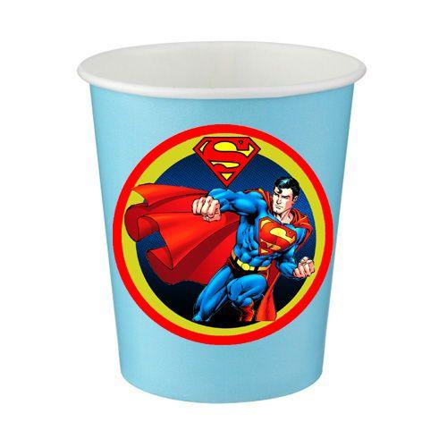 Superman Bardak (8 Adet)