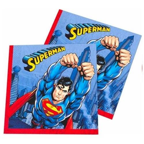 Superman Peçete (16 Adet)