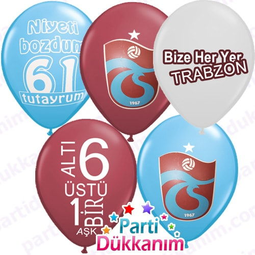 Trabzonspor Lisanslı Balonu (15 Adet)