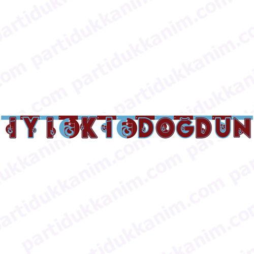 Trabzonspor İyi ki Doğdun Yazısı (2 metre), fiyatı
