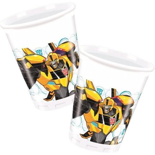 Transformers Bardak (8 Adet), fiyatı